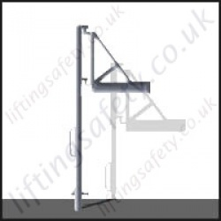 Vertical Pole Davit Arm - Various Ranges Available