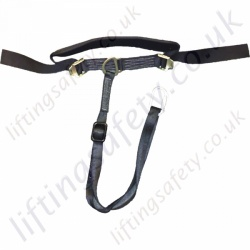 "LiftingSafety ""Black"" Adjustable Restraint Belt"
