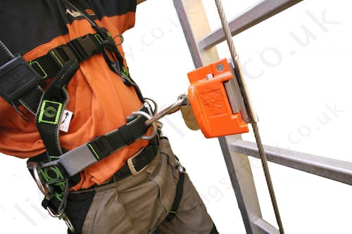 Soll Quot Vi Go Quot Wire Line Vertical Fall Arrest Cable Lifeline