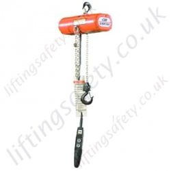 Yale Columbus McKinnon (CM) Wind Turbine Chain Hoist, Many Voltage Options - 250kg