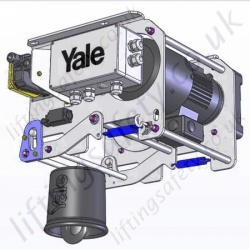 Yale Wind Turbine Wire Rope Hoist - 250kg or 500kg Capacity