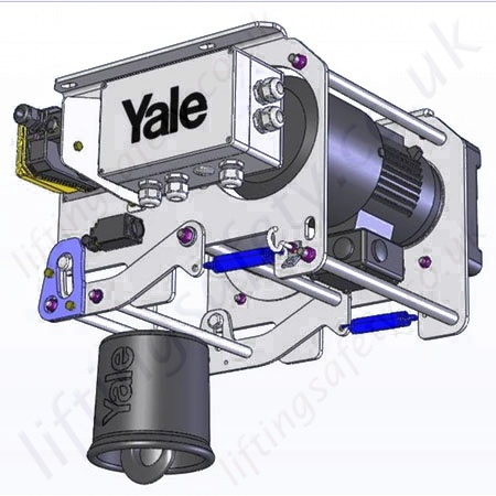 Beautiful Yale Wire Rope Hoist Gift - Schematic Diagram Series ...