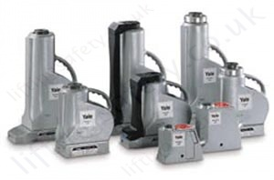 Yale ajh aluminium hydraulic jacks 6.5 up to 100 tonnes