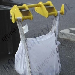 Big Bag Carrier Fork Truck/Hook Mounted Attachment - 2000kg