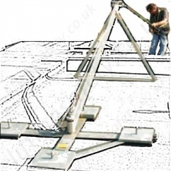 LiftingSafety Portable Cantilever Deadweight Anchor System