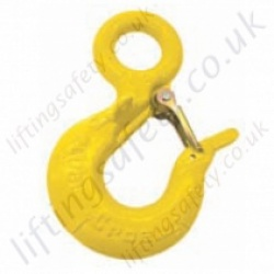 Crosby L-320R Eye Safety Sling Hooks - Range from 3200kg to 60,000kg