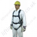"SALA ""Exo-Fit"" Fall Arrest Harness with Rear and Front  'D' Ring& Work Positioning Belt"