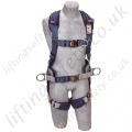 "SALA ""ExoFit XP"" Fall Arrest Harness with Rear and Front  'D' Rings & Work Positioning Belt"