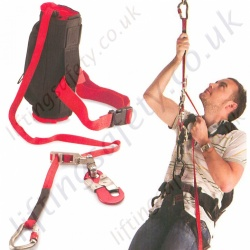LiftingSafety Automatic / Manual Emergency Evacuation and Rescue Descender / Kit - 20 to 80m Rope Lengths
