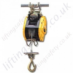 Scaffold Hoists, 110v or 240v - 80kg, 160kg or 300kg Options. Up to 30 metre HOL.