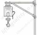 Swivel Jib Arm to Fit Standard Scaffold Tube