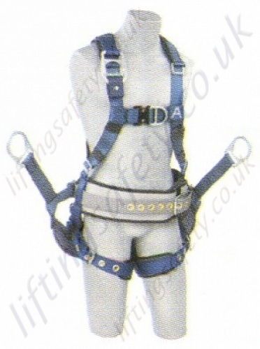 Delta Derrick Harness designed for the oil industry