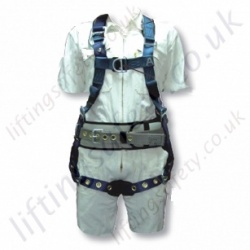 "SALA ""Exo-Fit Premium"" Derrick / Oil Workers Fall Arrest Harness with Front and rear 'D' Rings & Work Positioning Belt"