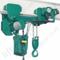 "JDN ""TI LMF"" Low Headroom Pneumatic Hoist and Trolley Combination - Ranging from 500kg to 6300kg"