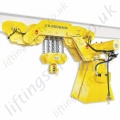 "JDN ""UH"" Monorail Ultra Low Monorail Hoist - Range from 4000kg to 16000kg"