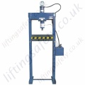 Heavy Duty Hydraulic Workshop Press, Manual Hydraulic Operation - 12,000kg to 20,000kg