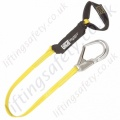 "SALA ""ArcFlash"" Webbing Fall Arrest Lanyard To Reduce the Passage of Electricity  - 1.9 Metre"