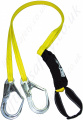 "SALA ""ArcFlash"" Twin Leg 100% Tie Off Fall Arrest Lanyard To Reduce the Passage of Electricity with Scaffold Hooks - 1.8 Metre"