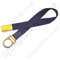 "SALA ""Concrete""  Web Anchorage Strap, Reevable with Soft Eye and Steel Anchorage Eye - 105cm or 122cm"