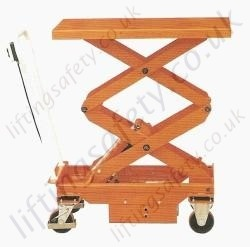 Electric Double Scissor - Scissor Lift Table, 500kg Lifting Capacities, 1618mm Lifting Height