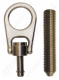 "SALA ""Detent Wall Anchor"". Removable Stainless Steel Swivel Eye Bolt"