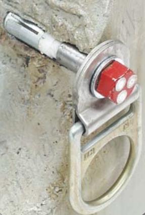 Sala Concrete D Ring Swivel Eye Bolt Removable After