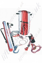 "SALA Rollgliss ""R250"" Industrial Working at Height  Rescue Kit - Rope Lengths 10, 20 and 30 Metre"
