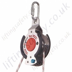 "SALA ""R350"" Manriding & Rescue Hoist. SWL 250kg (2 Persons) Lifting Ratios 1:1 - 5:1. Synthetic Rope Lengths (HOL) to 66 Metre"