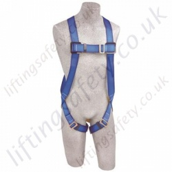 Protecta 1st, 1 Point Economy Fall Arrest Harness with Rear and Front  'D' Ring Connector