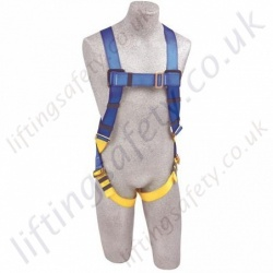 Protecta First 1 Point Economy Fall Arrest Harness with Rear and Front 'D' Ring (5 Point Adjustment)