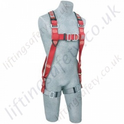 "Protecta ""Flexa"" 2 Point Elastic Fall Arrest Harness with Rear and Front 'D' - S, M/L and XL"