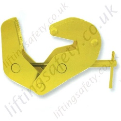 Camlok SCA Screwlock Beam Clamp - Range from 500kg to 3000kg