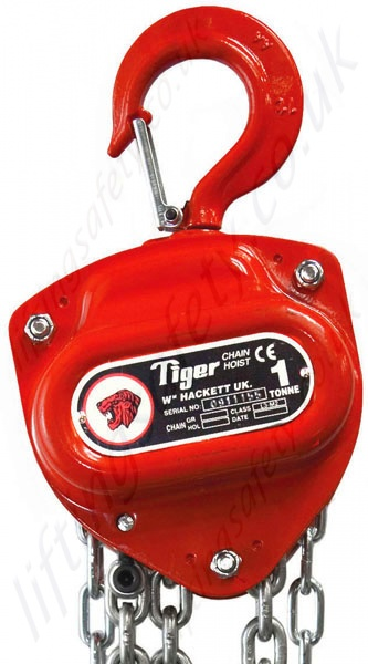 Tiger Manual Hand Chain Hoist  Top Hook Suspended