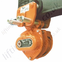 Portable Electric Winch >> Tiger Chain Hoist with Integrated Trolleys (Push and Geared Travel) - Range from 500kg to 30 ...