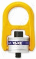 Yoke Swivel Hoist Ring, Swivel Lifting Eye with Washer (Not Bearings) UNC Imperial Thread - Range from 800lbs to 30000lbs