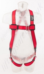 "Protecta ""Pro"" Single Point Fall Arrest Harness with Rear 'D' Ring, Size: S to XL"