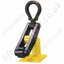 Camlok RH Roller Toe Plate Clamp - Range from 1500kg to 5000kg
