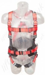 "Protecta ""Pro"" 3 Point Fall Arrest Harness with Belt, Rear and 2 x Chest 'D' Rings, Size S to XL"