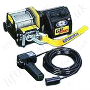 Superwinch 12v Vehicle Recovery Wire Rope Winch For