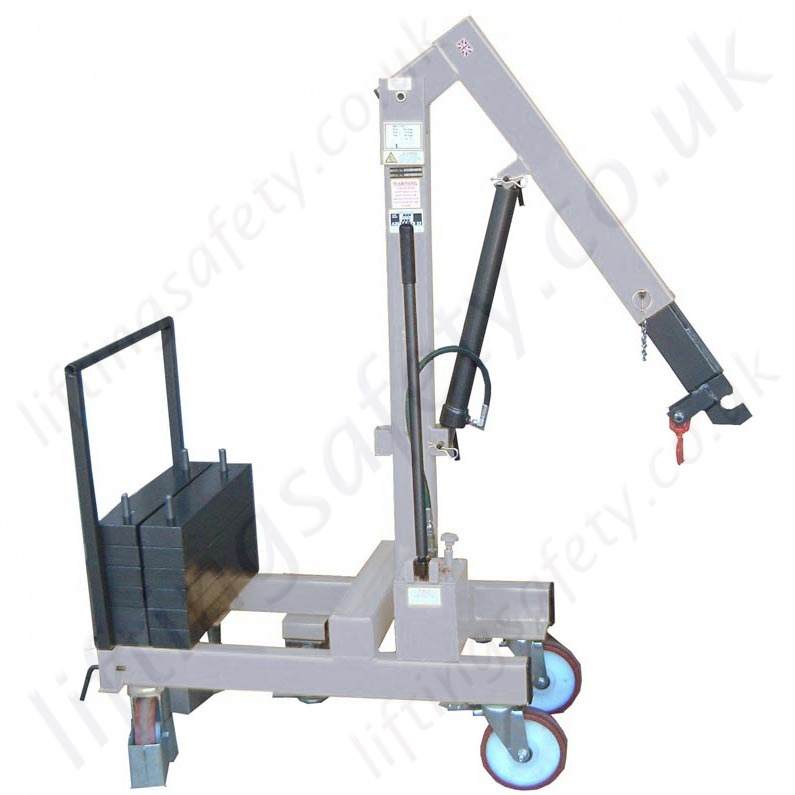 Steel Lift Arm : Manual or powered pivoting arm knock down counterbalance