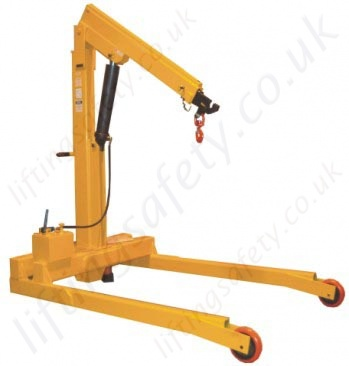 Fixed Leg - Heavy Duty Floor Crane