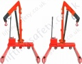 Articulating Arm Fixed Leg Crane
