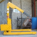 Fixed Leg Crane with Power Lift