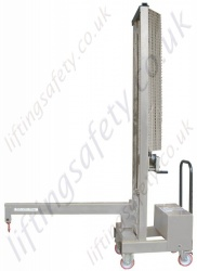 Stainless Steel Vertical Lift Counter Balanced Floor Crane