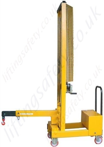 3pt Extendable Low Lift Arms : Manual or powered carriage mounted fork truck lifting