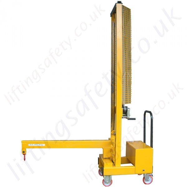 Manual Or Powered Carriage Mounted Fork Truck Lifting