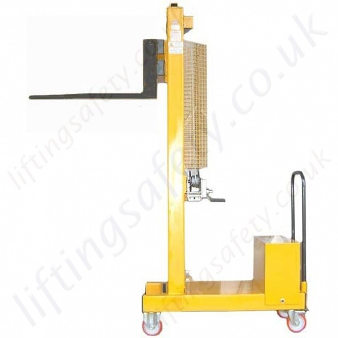 Manual Or Powered Fork Lift Truck With Tines