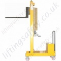 MANUAL OR POWERED - Fork Lift Truck with Tines Counterbalanced Workshop Lifter, Hand or Powered Lift & Travel. Many options.
