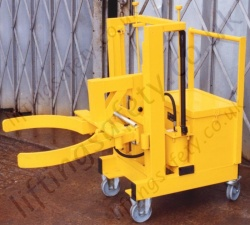 Powered Side Lifting Drum Crane