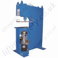 'C' Frame Hydraulic Press , Manual or Electric Hydraulic Operation, Capacity to Customers requirements.